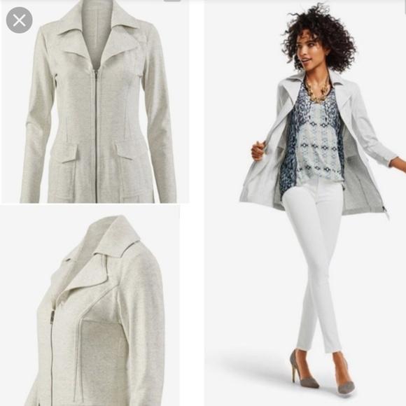 CAbi Jackets & Blazers - BOHO CAbi Foldover Collar Jacket